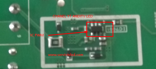 TV LED SHARP MATI TOTAL