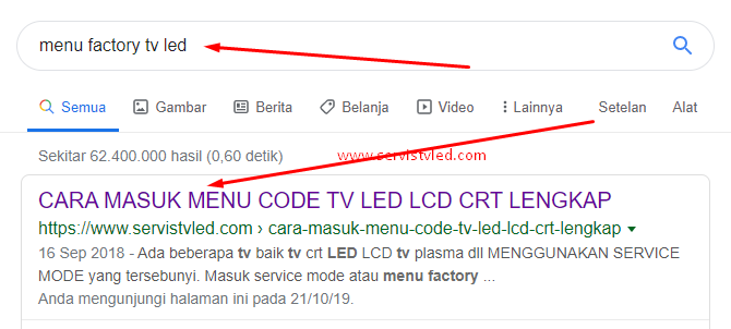 menjadi nomer satu di google