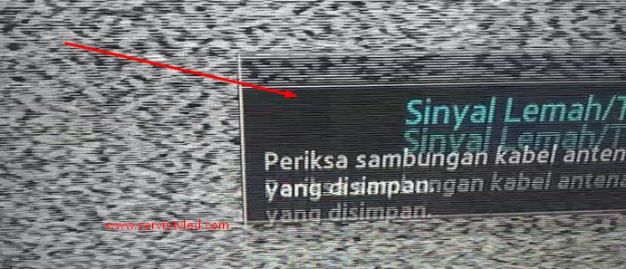 Cara Mudah Menghilangkan Gambar Dobel Bergaris Tv Led Samsung